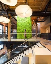 skype headquarters leckie studio repurposes a warehouse into slack s vancouver hq