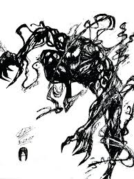 spiderman fighting venom coloring pages print 3 pictures spiderman
