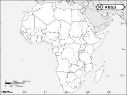 africa map physical africa physical outline map africa map