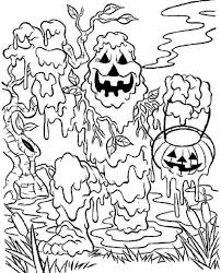 Halloween Coloring Pages Scary Halloween Halloween Coloring Scary Coloring Paes