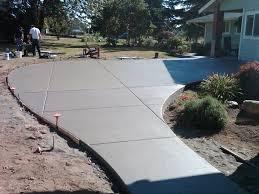 concrete patio finishes ideas