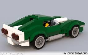 corvette stingray speed lego ideas speed champions corvette stingray choice gear