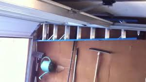 Installing An Overhead Garage Door Wayne Dalton Low Overhead Garage Door Rail Kit