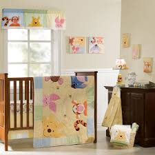 peeking pooh premier bedding collection disney baby