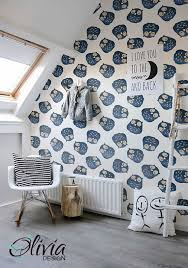 peel and stick vinyl wallpaper owl self adhesive wallpaper peel and stick vinyl nursery wallpaper