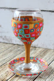 seder cup kiddush cup and coaster seder passover cup seder glass handmade