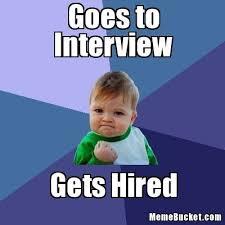 Good Luck Meme - funny good luck interview meme mne vse pohuj