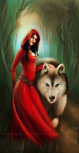 red and the wolf by alice in red deviantart com on deviantart