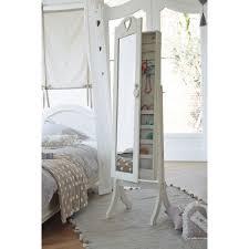 Maisons Du Monde Ouvre Un Miroir Psyché Avec Rangement Blanc H 160 Cm Maisons Du