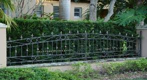 Decorative Outdoor Fencing Aluminum Fences Picket Fence Iron Fences Decorative Fence Wrought Iron