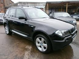 bmw x3 for sale used used bmw x3 2005 diesel 2 0d sport 5dr 4x4 black edition for sale