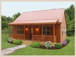 one room log cabin plans