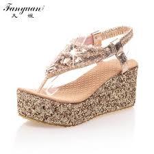 Rhinestone Sandal Heels Online Get Cheap Gold Rhinestone Sandals Heels Aliexpress Com