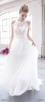 flowy wedding dresses picture of sheer lace wedding dress with a flowy skirt by