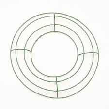 wreath forms metal wreath forms 8 inch green wire frame