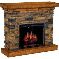 classic flame flagstone electric fireplace 175732 fireplaces