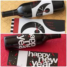 years eve wine label printables and hostess gift ideas