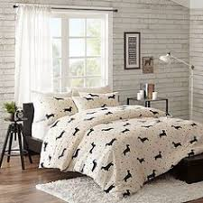 paw print sheets dog themed bedding set from the company store dog home decor