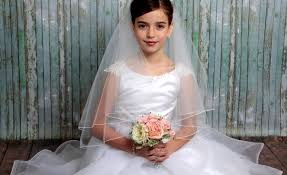 1st communion veils communion hairstyles tutorials for your girl