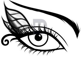 how to draw a fairy eye step by step by darkonator drawinghub