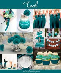 the 10 all time most popular wedding colors teal weddings teal