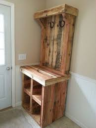 Wooden Pallet Furniture Pallet Entryway Bench The Owner Builder Network Entryway Bench