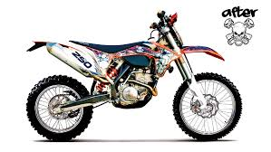 custom graphics start to finish example ktm 2012 youtube