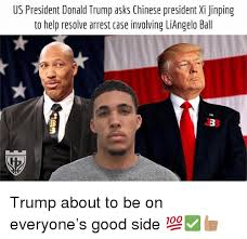 X I Meme - us president donald trump asks chinese president xi jinping to