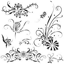 floral ornaments vector vector floral vector ornament