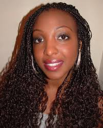 braided extensions curly braided hair wavy single plaits with extensions at
