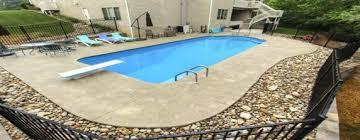 new great lakes in ground fiberglass pool by san juan aqua designs decor in bradenton san juan pools aqua designs