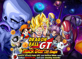 dragon ball gt black star db saga dragon ball dokkan battle