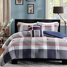 Plaid Bed Set Design Plaid Comforter Set