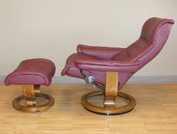 Red Leather Reclining Chair Royal Paloma Winered Leather Recliner Chair