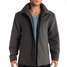 alpine swiss grant mens 28 open bottom jacket wool blend jd