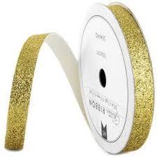 gold glitter ribbon 3 8 gold glitter ribbon hobby lobby 1006097