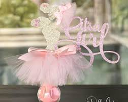 baby shower centerpieces for a girl girl baby shower etsy
