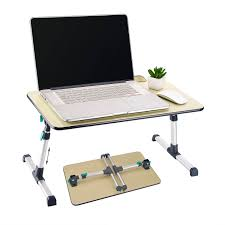 Computer Table For Couch Height Adjustable Wooden Laptop Table Bed Portable Standing Desk