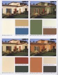 Spanish Style Exterior Paint Colors - mediterranean revival exterior color scheme restoring an old