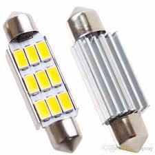 car dome light bulbs 42mm 9smd 5630 5730 smd c5w c10w canbus error free car festoon dome