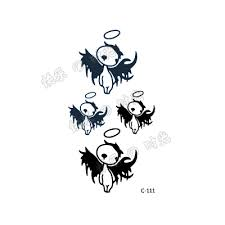 online shop free shinging waterproof and little devil tattoo
