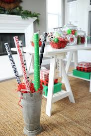 christmas party ideas girls night in pink peppermint design