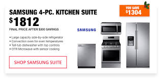 Best Deal On Kitchen Appliance Packages - kitchen appliance packages the home depot