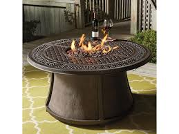 Patio Fire Pit Table Ashley Signature Design Burnella Outdoor Round Fire Pit Table