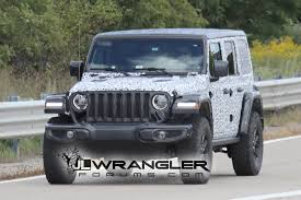 jeep gray wrangler 2018 jeep wrangler jl drops major camo revealing nearly all