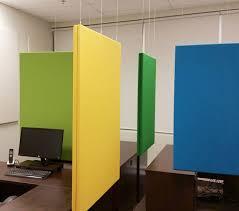 separateur de bureau séparateurs acoustiques pour bureaux spica acoustique panneaux