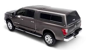 Pickup Truck Bed Caps A R E Accessories Expands Truck Cap Options For 2016 Nissan Titan Xd