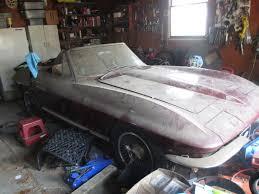 1966 corvette parts for sale barn find c2 corvette needs a restoration corvetteforum