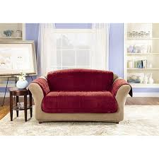 Slipcover For Leather Sofa by Sure Fit Deluxe Sofa Comfort Cover Free Shipping Today