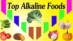 count the top most alkaline foods a list of high alkaline
